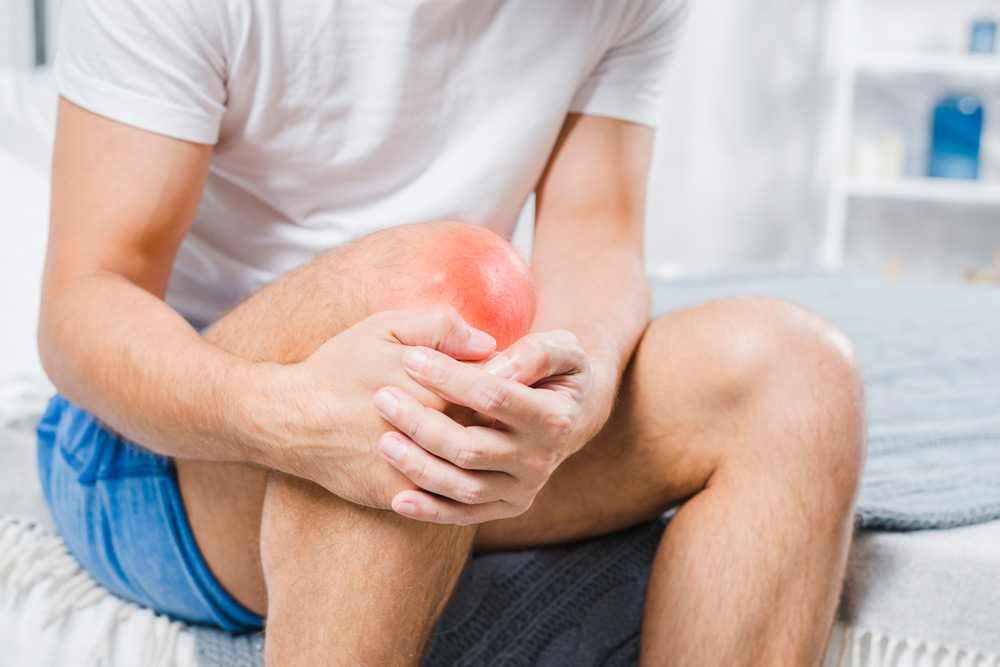How can you alleviate your knee pain at home?